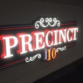 halo lit, lightbox, illuminated signs, channel letters